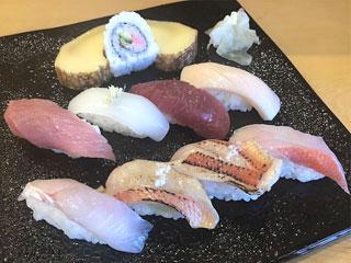 治ろうや鮨処「お任せ握り」千葉県銚子市
