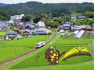 イワクラ公園「展望台」岐阜県恵那市