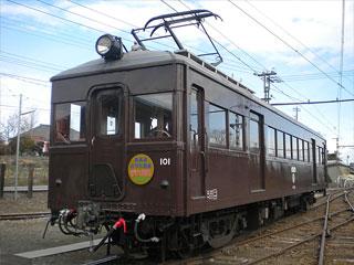 上毛電気鉄道「デハ101号」群馬県前橋市・桐生市