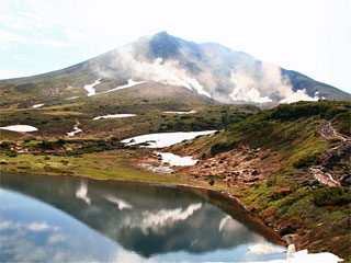 旭岳「姿見の池」北海道東川町