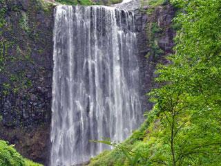 「賀老の滝」北海道島牧村