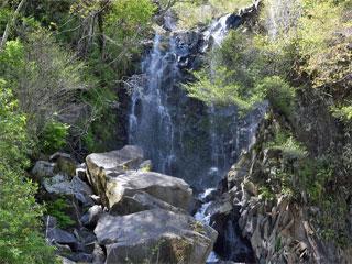 「飛龍の滝」神奈川県箱根町町
