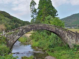 「楠浦の眼鏡橋」熊本県天草市