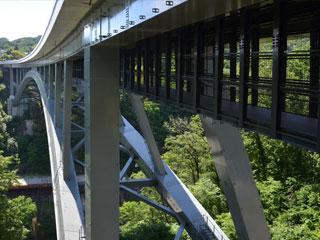 「そらさんぽ天龍峡(天龍峡大橋)」長野県飯田市
