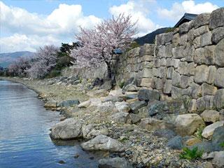 「海津の石積み」滋賀県高島市