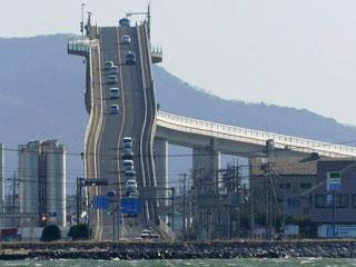 「江島大橋」島根県松江市八束町・鳥取県境港市渡町