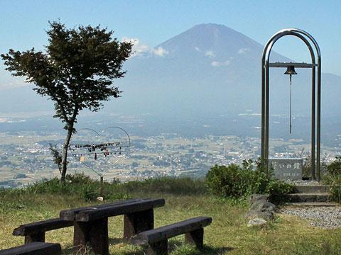 金太郎ふじみライン「誓いの丘公園」静岡県小山町