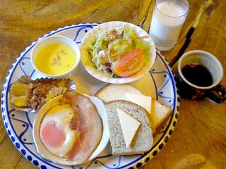 南ヶ丘牧場「ガーンジィ朝食セット」栃木県那須町