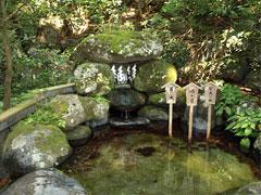 日光二荒山神社「二荒霊泉」栃木県日光市