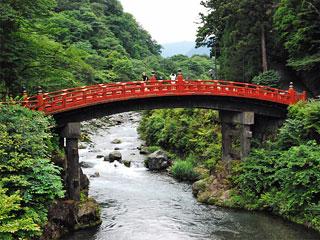 「神橋」 栃木県日光市