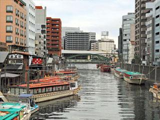 「神田川の船だまり」東京都中央区・台東区