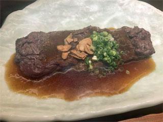 本家くじら屋の「鯨ステーキ」東京都渋谷区渋谷