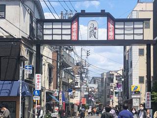 「よみせ通り」東京都台東区