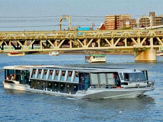 東京都観光汽船「水上バス」東京都台東区など