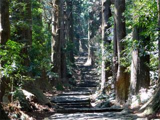 熊野古道「大門坂」和歌山県那智勝浦町